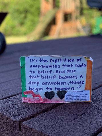 Affirmation Box
